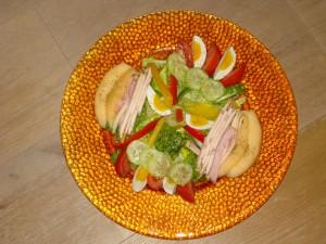 Exotischer Mango Salat