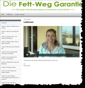 Kurs-Fett-Weg-Garantie